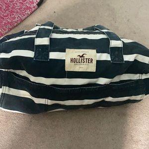 2/$25 Hollister Striped Duffel Bag
